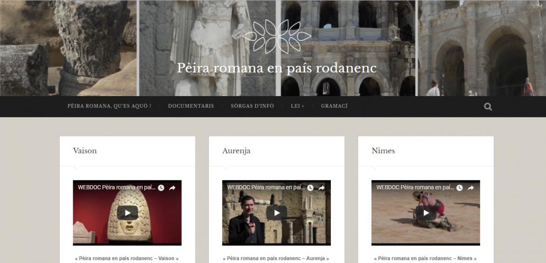 Peira romana presentacion sus site